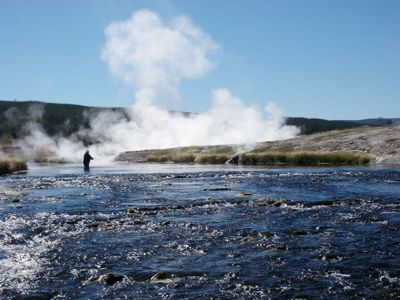 Mark   on the firehole