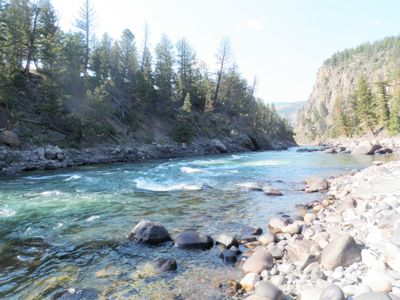 Yellowstone River; Black Canyon
