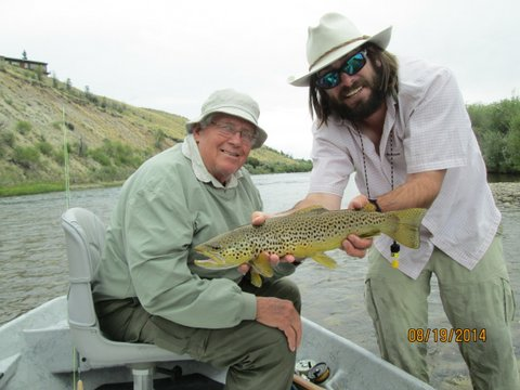 Dave's Brown trout
