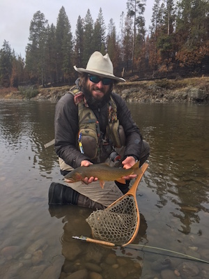 Nate Bennett with Yellowstone Cutt