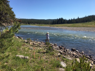 fly fishing the upper Snake