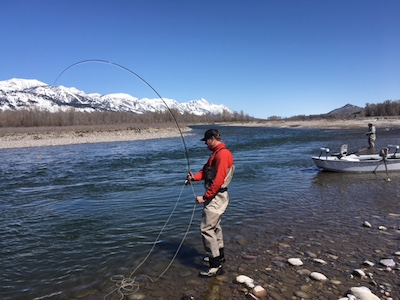 april hookup on the Snake river