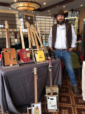 me with cigar box guitars