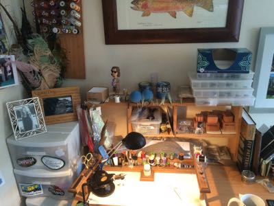 Teton Fly Fishing Tying bench