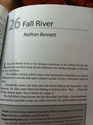 Nate Bennett, Teton Fly FIshing chapter