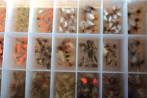 Jackson Hole fly assortment