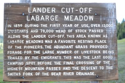 History   along the Cutthroat Trail