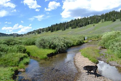 Fishing   the Wyoming high country