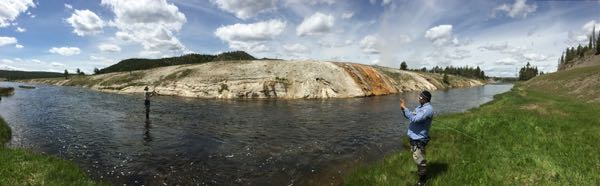Firehole Panorama