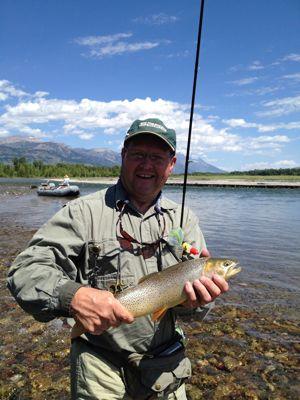 Jim's cutthroat trout