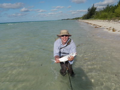 Kurt's first bonefish