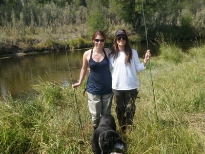 ladies first fly fishing trip
