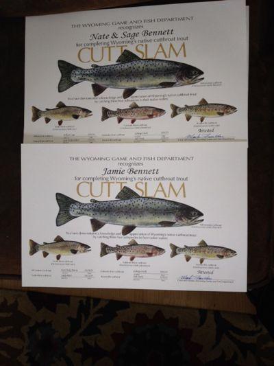 Teton Fly Fishing's Cutt Slam