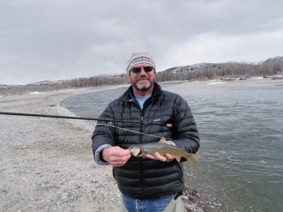 steve with trout
