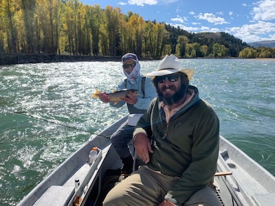 Tutu with a nice snake river cutthroat
