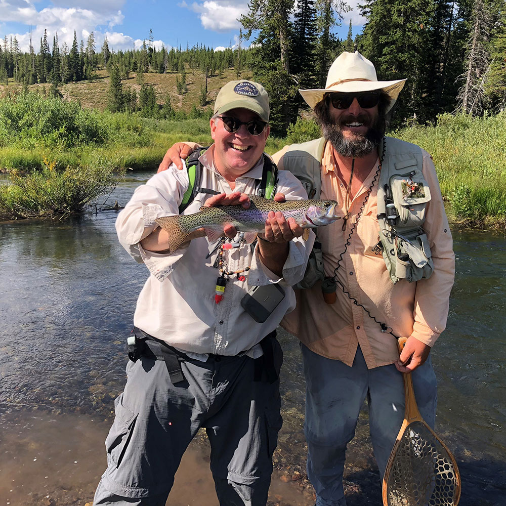 Fishing the Yellowstone Backcountry