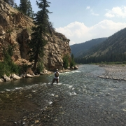 Fly Fishing Remote waters in Wyoming