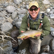 Kurt's Dubois brown trout