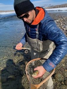 February cutthroat trout